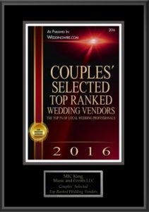 MICKing Music and Events offers DJ Services, Photo booth services in the Kansas City Area.  Awards from the knot and WeddingWire.